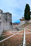 Old starway in Campobasso Royalty Free Stock Photography