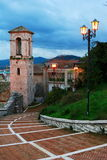 Old starway and staple in Campobasso Royalty Free Stock Images