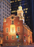 Old State House of Boston at dusk Royalty Free Stock Photo