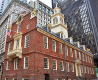 Old State House, Boston, MA, USA Royalty Free Stock Images