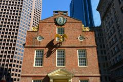 Old State House, Boston, MA, USA Stock Photography