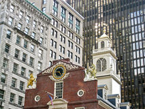 Old State House in Boston Massachusetts Royalty Free Stock Images