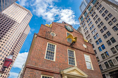 Old State House in Boston, Massachusetts Royalty Free Stock Photos