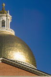 The Old State House for the Commonwealth of Massachusetts, State Capitol Building, Boston, Mass. Royalty Free Stock Photo
