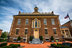 The Old State House in Dover, Delaware. Royalty Free Stock Photography