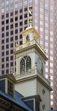 Old State House tower Royalty Free Stock Image