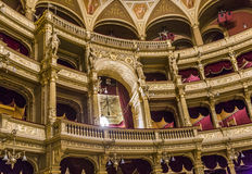 Old state opera Opera house in Budapest Royalty Free Stock Images