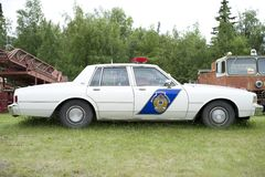 Old State Trooper Car stock photography