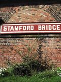 The Old Railway Station at Stamford Bridge, Yorkshire royalty free stock photography