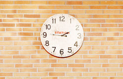 An old station clock Royalty Free Stock Photos