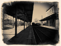 The old station Royalty Free Stock Photography