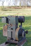 Old stationary engine Royalty Free Stock Images