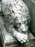 Old statue. Detail of Recoleta Cemetery, Buenos Aires, Argentina Royalty Free Stock Image