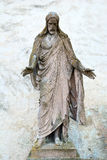 Old statue of Jesus Christ Royalty Free Stock Images