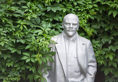 Old statue of Lenin Stock Photography