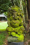 Old statue of Lord Ganesha Stock Photography