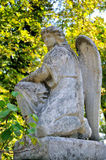 Old statue. In Lychakiv Cemetery in Lviv, Ukraine Royalty Free Stock Images