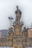 Old statue, monument in Kutna Hora Royalty Free Stock Photography