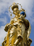 Old statue in the park detail Royalty Free Stock Photography