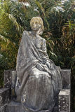 Old statue of a woman Stock Photography