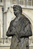 Old statues from Bath Stock Image