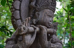 Old statues of temple. Amazing Old statues found in  temples of southern  India Stock Photo