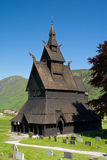 Old Stave church Stock Photo