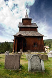 Old Stave Church. A stavechurch - stavkirke - in Norway located at Torpo built in the 13th century Stock Images