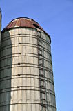 Old stave silo Stock Image