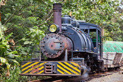 Old Steam Engine in Operation Royalty Free Stock Images
