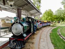 Free Old Steam Engine At Rail Museum Located In The Center Of New Delhi. Royalty Free Stock Photography - 181361587