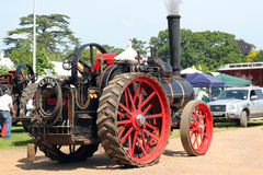 Old steam engine. Royalty Free Stock Photography