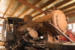 Old Steam Engine Royalty Free Stock Image