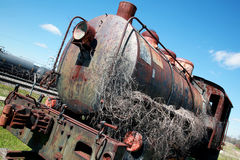 Old Steam Engine Train Royalty Free Stock Image