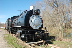Old steam engine train Royalty Free Stock Photography
