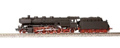 Old steam loco model Royalty Free Stock Photo