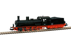 Old steam loco model Royalty Free Stock Images