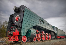 Old steam locomotive Royalty Free Stock Photo