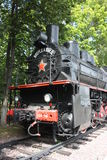 Old steam locomotive Royalty Free Stock Images