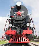 The old steam locomotive Stock Photos