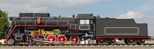 The old steam locomotive Royalty Free Stock Image