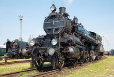 Free Old Steam Locomotive Stock Photography - 31810082