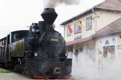 Free Old Steam Locomotive Royalty Free Stock Photos - 33299118
