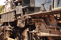 Free Old Steam Locomotive Royalty Free Stock Photography - 68227177