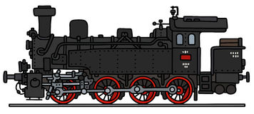 Old steam locomotive Royalty Free Stock Photography