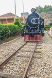 Old steam locomotive since 1925 at Hua Hin railway station, Thai Stock Images