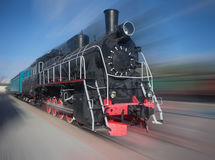 The old steam locomotive Stock Images