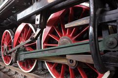 Old steam locomotive  maozedong Royalty Free Stock Photo