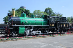 Old steam locomotive no.340 Royalty Free Stock Image