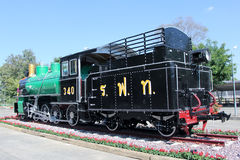 Old steam locomotive no.340 Royalty Free Stock Photos